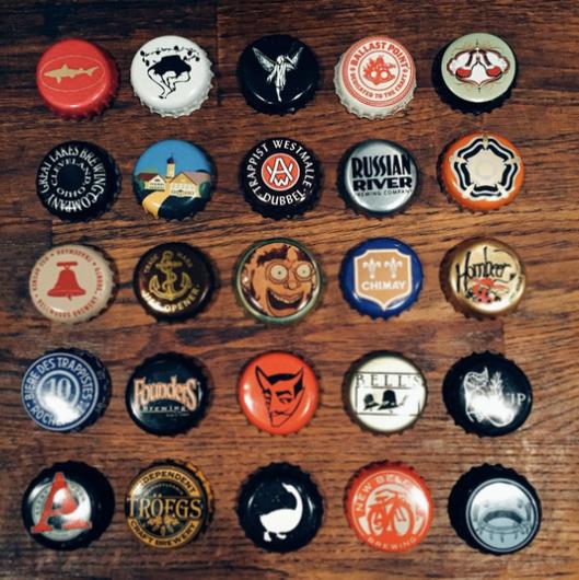 Inspiring Beer Caps