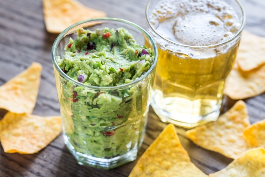 Guac and beer